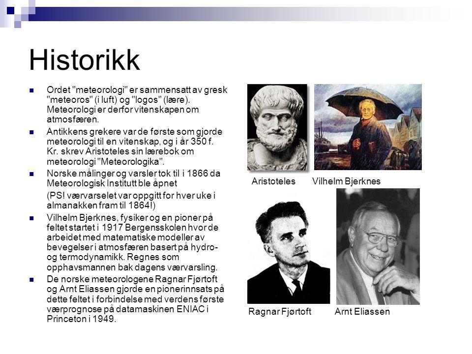 Historikk  Ordet
