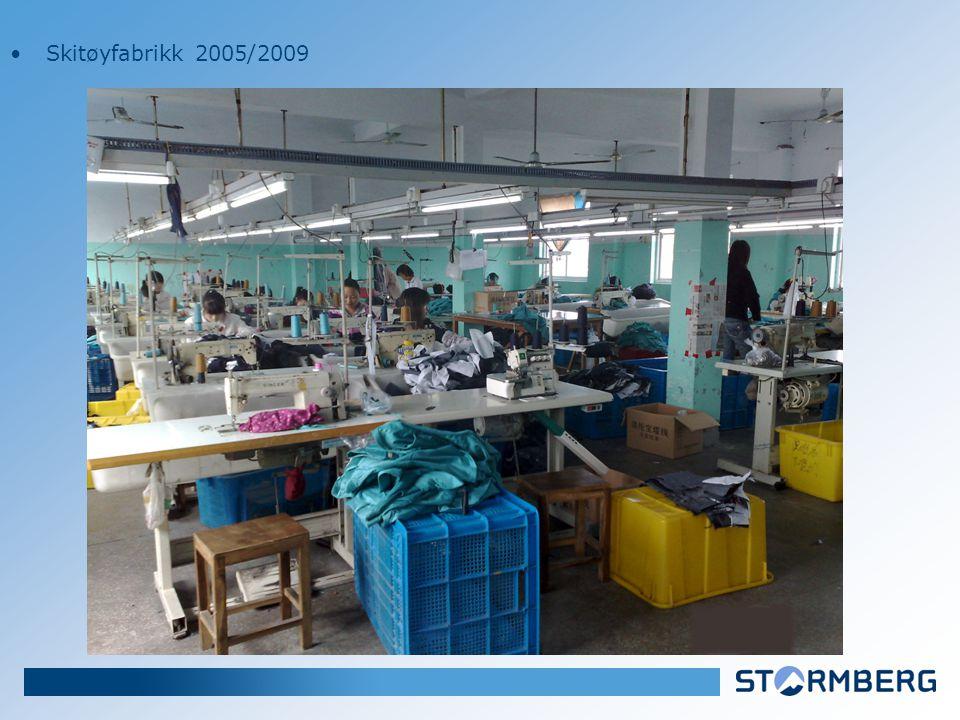•Skitøyfabrikk 2005/2009