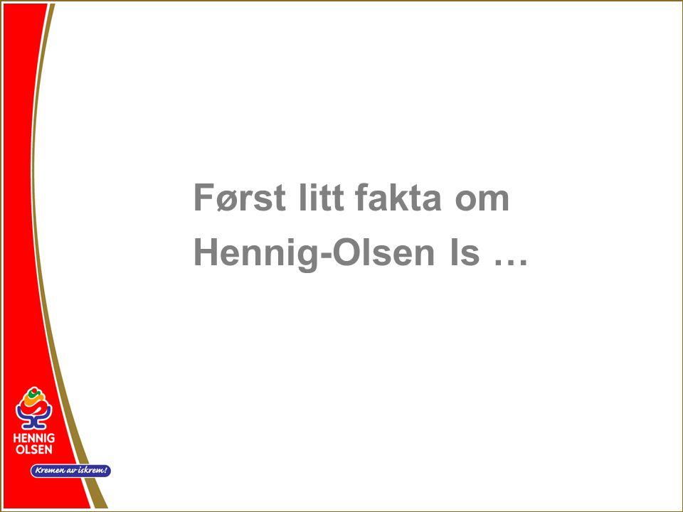 Hennig-Olsen Is er eldste iskremfabrikk i Skandinavia.