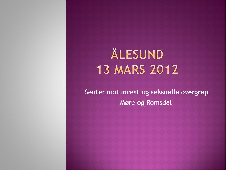 Senter mot incest og seksuelle overgrep Møre og Romsdal