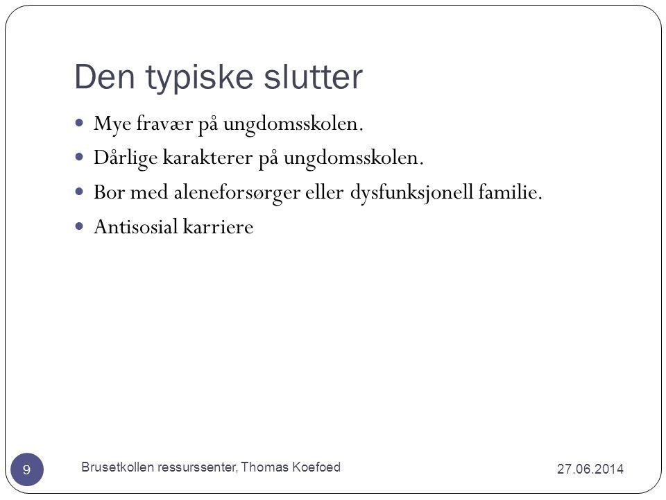 Skolen 27.06.2014 Brusetkollen ressurssenter, Thomas Koefoed 69  Lederen har ansvaret for skape en inkluderende og lærende organisasjon  Voksenstandard som tydeliggjør den gode voksne.
