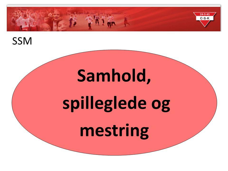 SSM Samhold, spilleglede og mestring