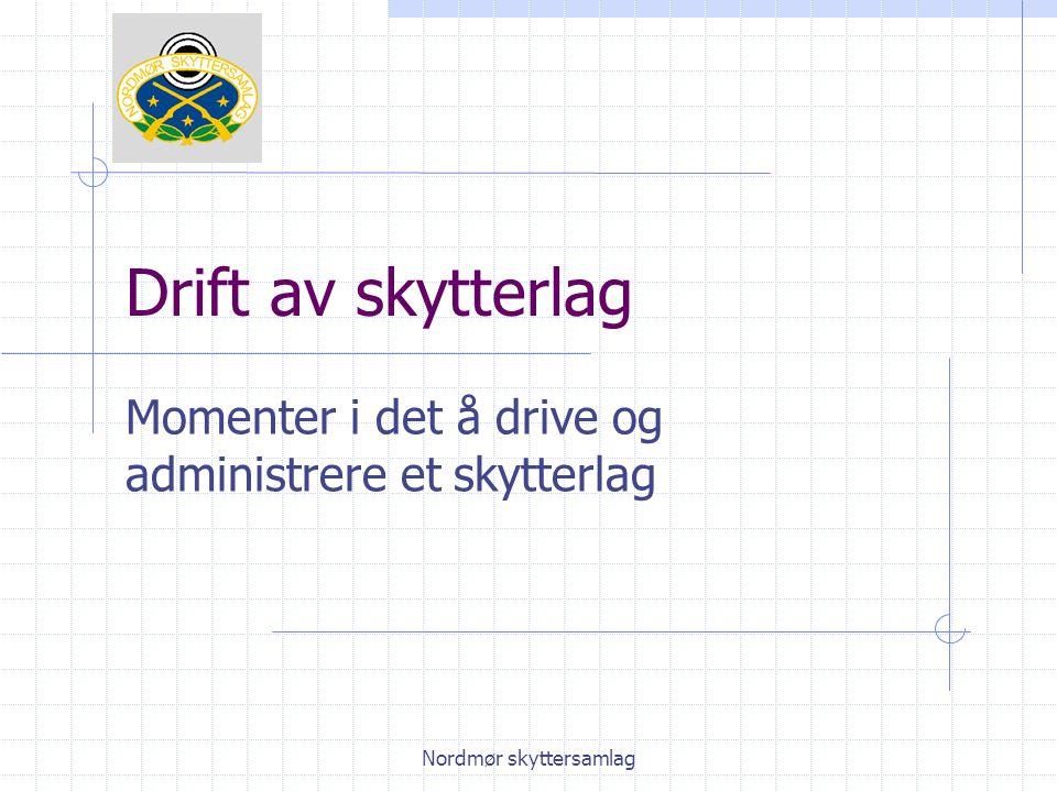 Nordmør skyttersamlag Skytebanen m.