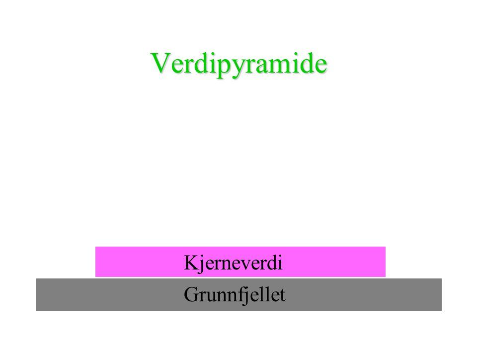 Verdipyramide Kjerneverdi