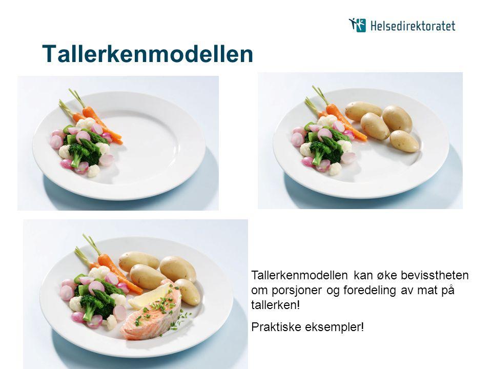 | Tallerkenmodellen Tallerkenmodellen kan øke bevisstheten om porsjoner og foredeling av mat på tallerken! Praktiske eksempler!