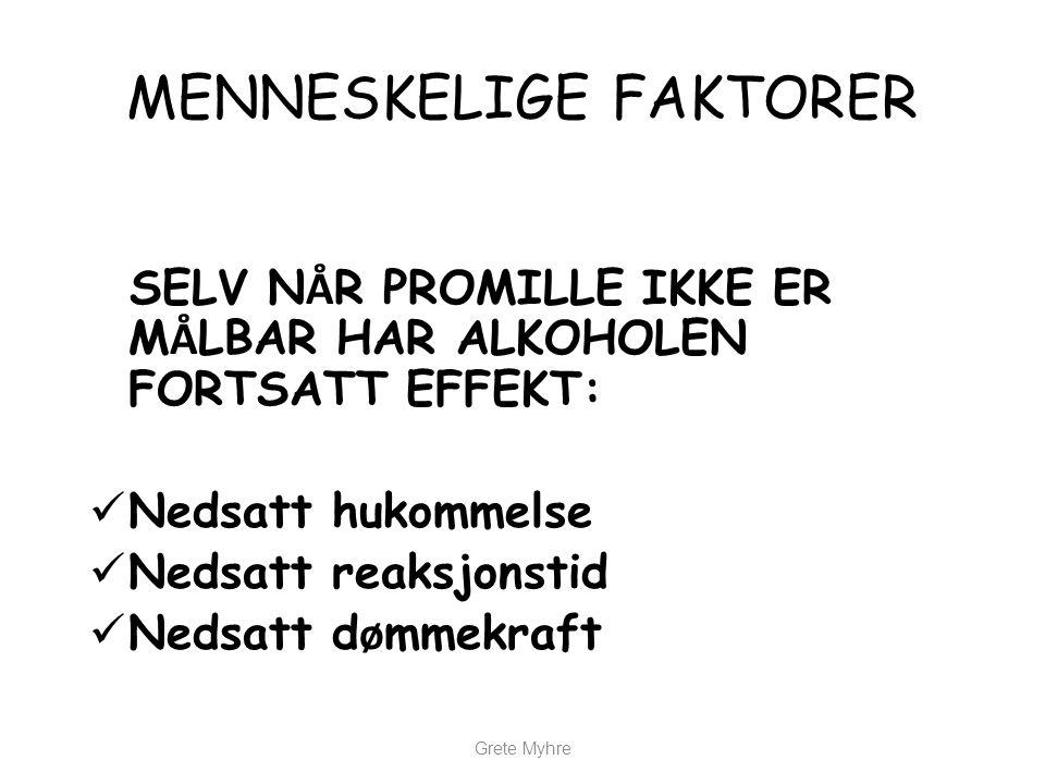 Grete Myhre SPØRSMÅL?