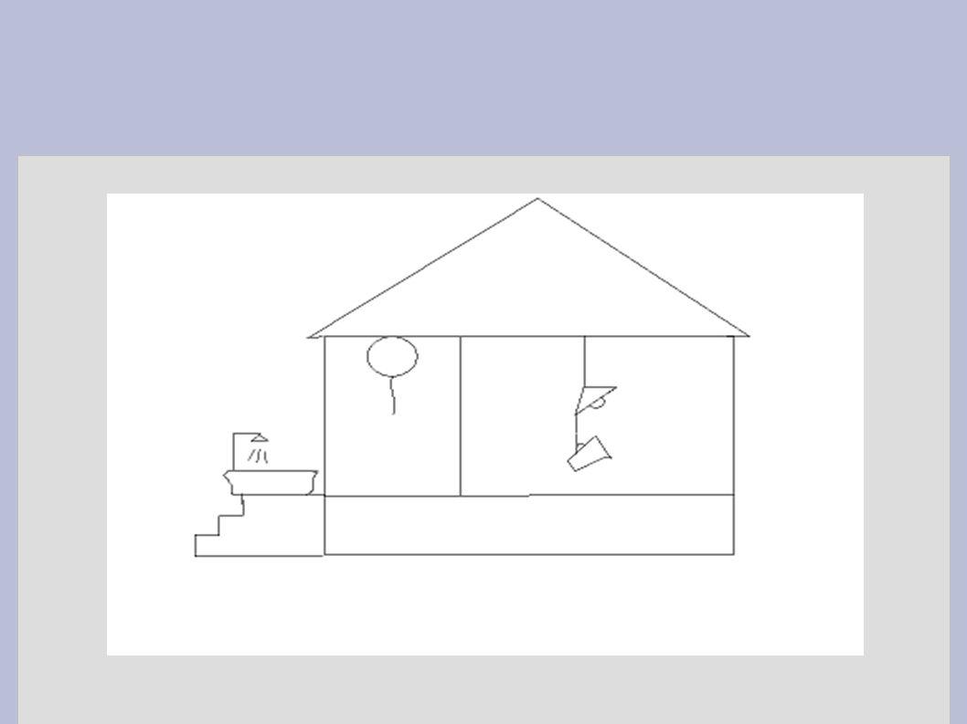 Badekar (hydrogen/vannstoff) på trappen, ballong (helium) i gangen, litermål (lithium) hengende i taklampen i stuen,...