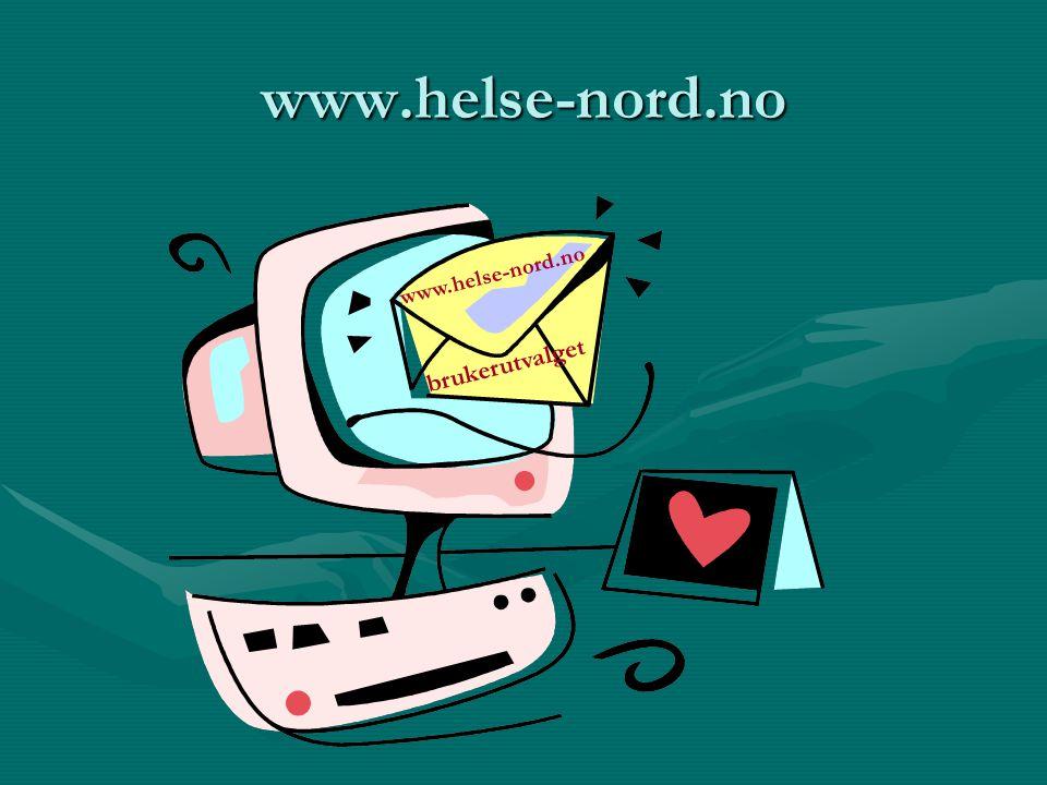 Målsetting for utveksling av erfaringer og ideer •Helse Nord RHF skal sikre god dialog mellom behandlere og brukere på relevante helsefaglige arenaer i regionen, hvor fokus settes på brukerperspektivet og brukererfaringene.
