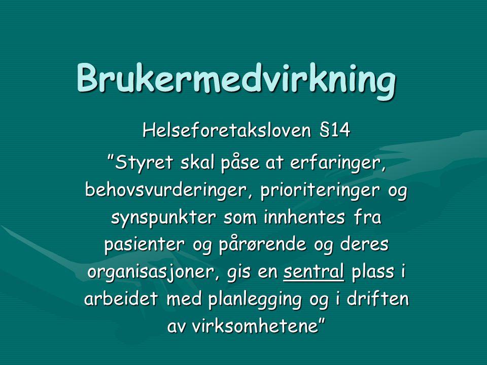 Senter for Brukererfaring og Brukerombudsfunksjon Ombudsfunksjonen - er et resultat av de senere års utvikling av brukermedvirkning og brukerstyring innenfor Rus og psykiatri i Tromsø kommune.