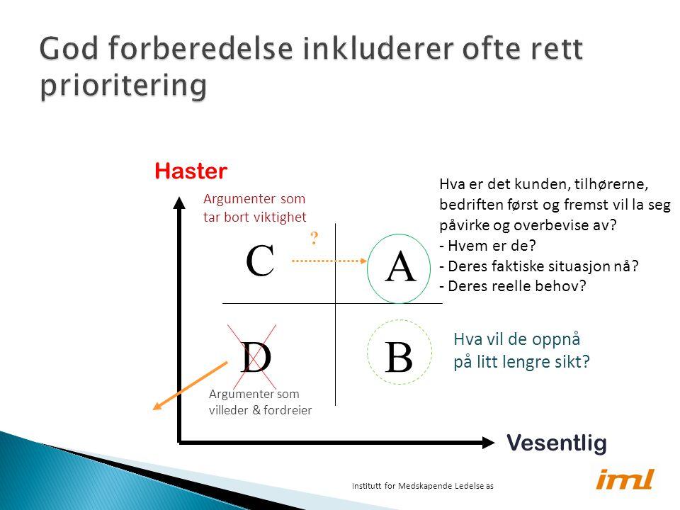 DB A C Haster Vesentlig .