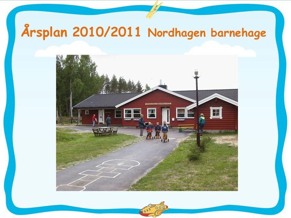 Velkommen til barnehageåret 2010/2011 Vi i Nordhagen barnehage gleder oss til å ta tak i det pedagogiske arbeidet, men ikke minst det å bli kjent med nye barn og foreldre.