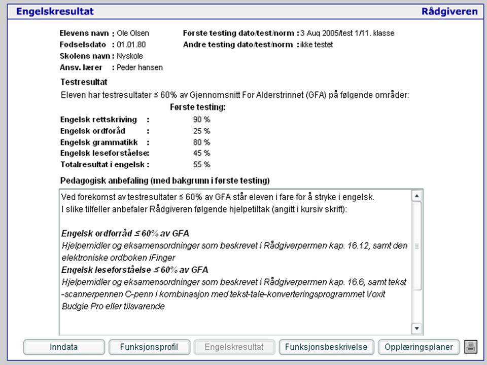 Testoperatørkurs nye Rådgiveren 2006 À jour pr. mars 06 NetPed 2006