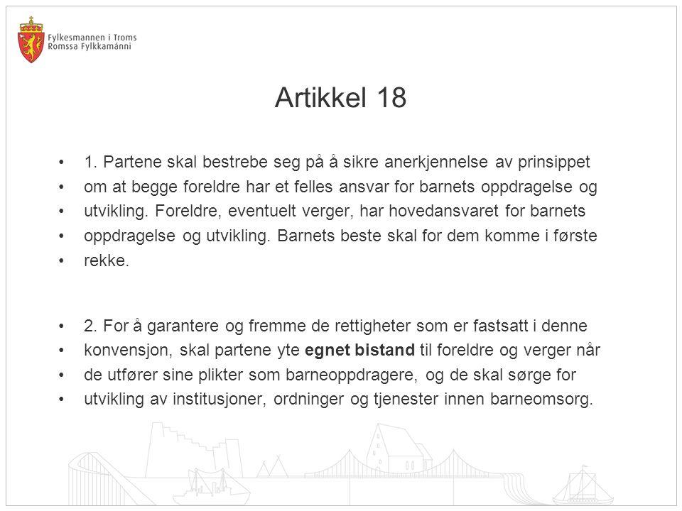 Artikkel 18 •1.