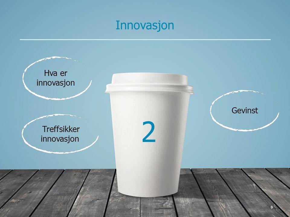 10 Kort og greit 2 Innovasjon Innovasjon er en ny og bedre løsning