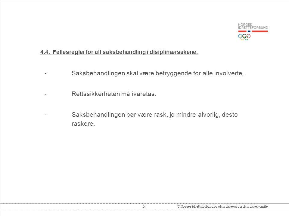 63© Norges idrettsforbund og olympiske og paralympiske komité 4.4.