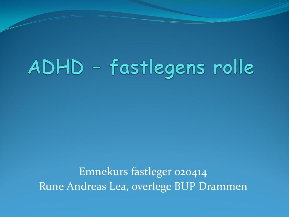 Henvisning: ADHD .