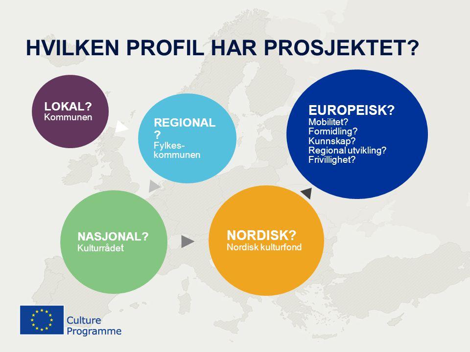 Kultur 400 millioner euro Media 755 millioner euro Aktiv ungdom 885 millioner euro Livslang læring 6 970 millioner euro Forskning 50,5 milliarder euro Struktur- midler 308 milliarder euro EUs MANGE VERKTØY FOR KULTUR