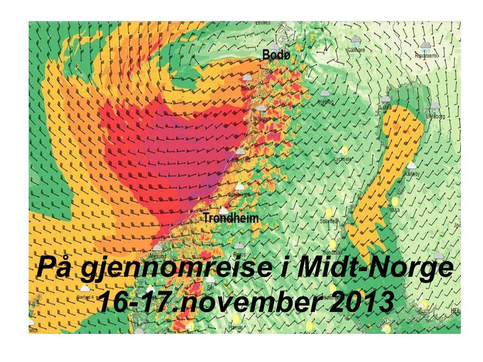 På gjennomreise i Midt-Norge 16-17.november 2013