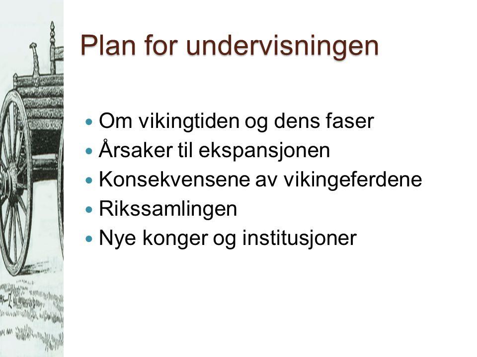Vikingtiden  Ca.
