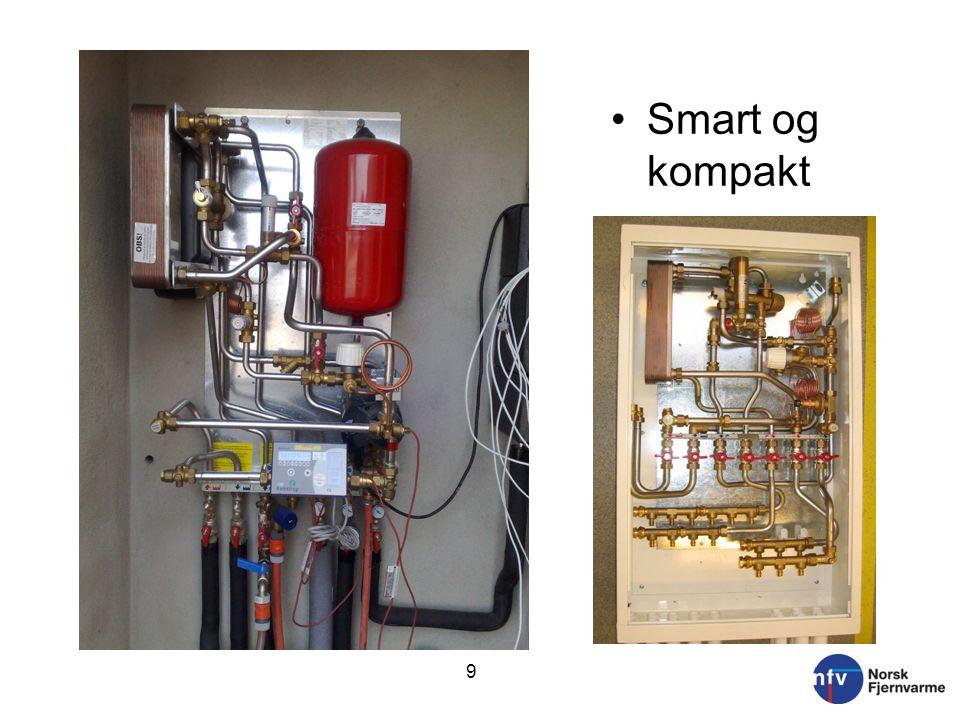 9 •Smart og kompakt