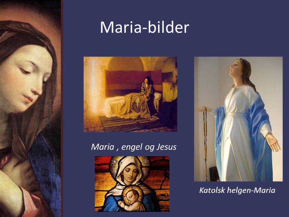 Lukas 1,39-55 - Maria Men Maria brøt opp i de dager og skyndte seg til fjellbygdene, til en by i Juda.
