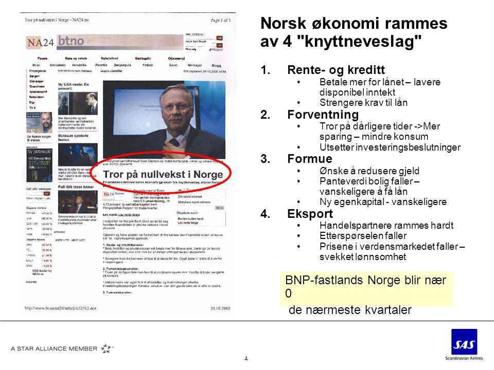 4 Norsk økonomi rammes av 4