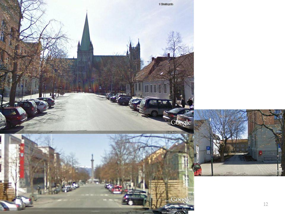 I Trondheim: 11 Arrangør Start Elgseter bru Lede- og følgebiler