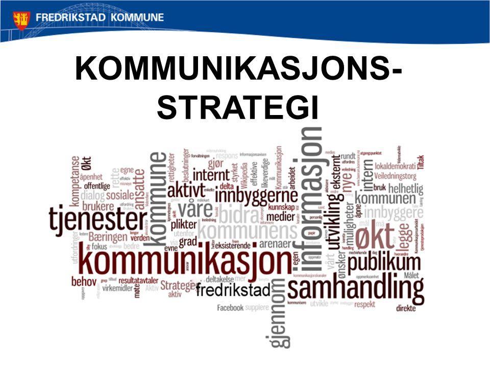 KOMMUNIKASJONS- STRATEGI