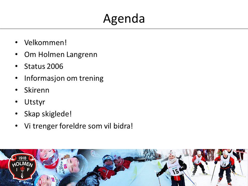 Agenda • Velkommen.