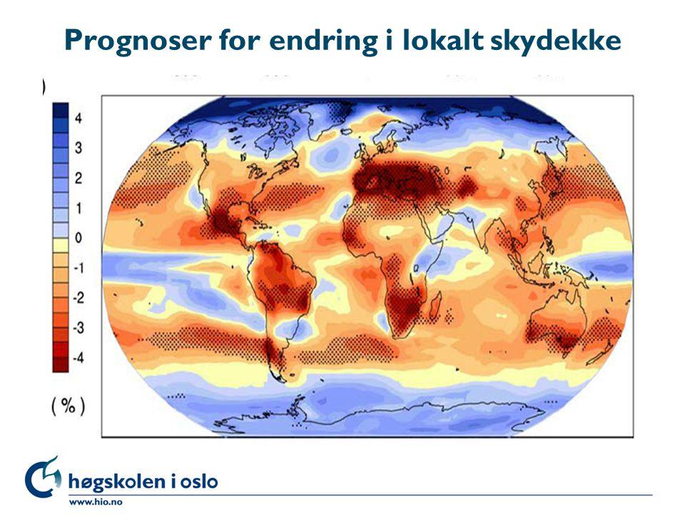 Prognoser for endring i lokalt skydekke