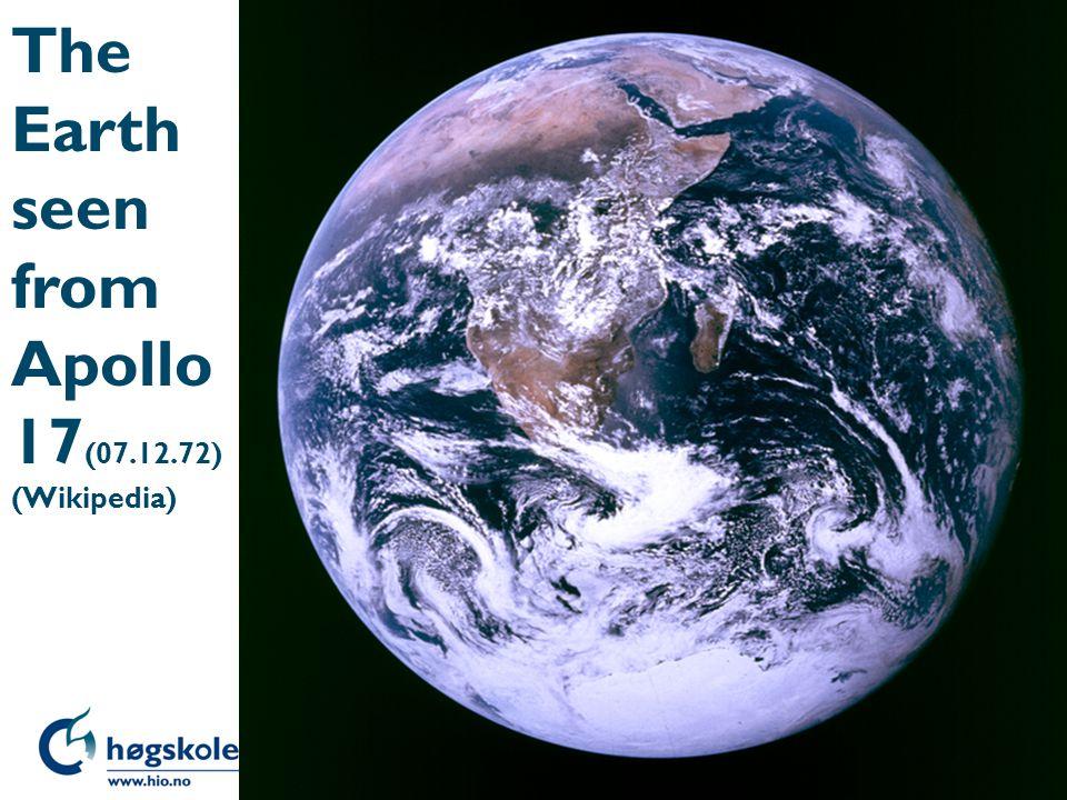 The Earth seen from Apollo 17 (07.12.72) (Wikipedia)