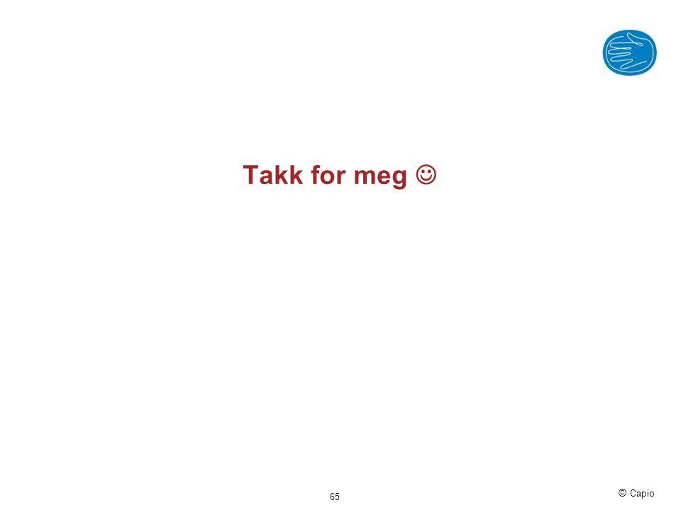 © Capio Takk for meg  65