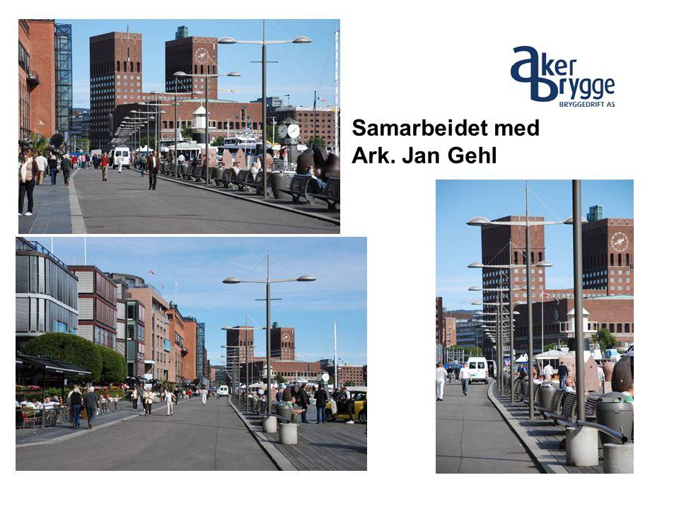 Samarbeidet med Ark. Jan Gehl