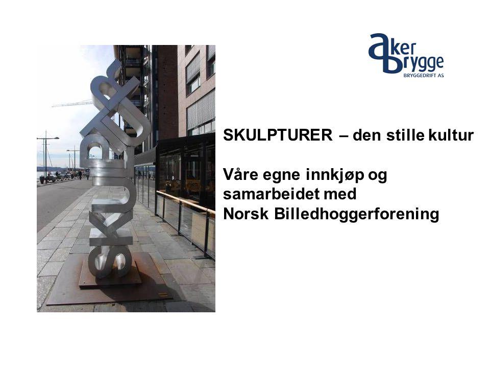 SKULPTURER – den stille kultur Våre egne innkjøp og samarbeidet med Norsk Billedhoggerforening