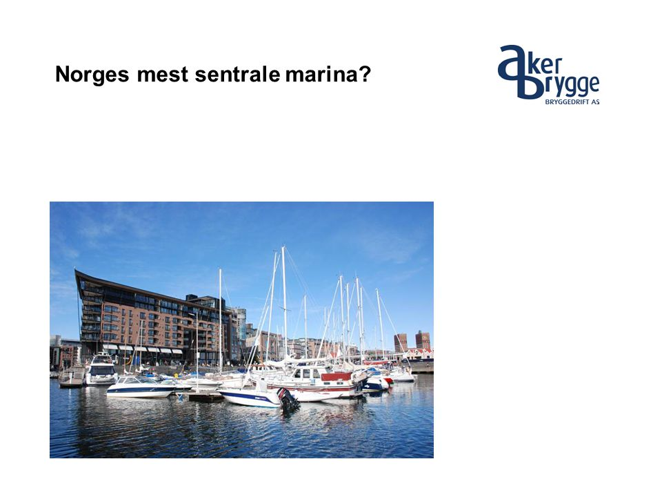 Norges mest sentrale marina?