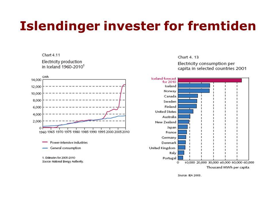 Islendinger invester for fremtiden