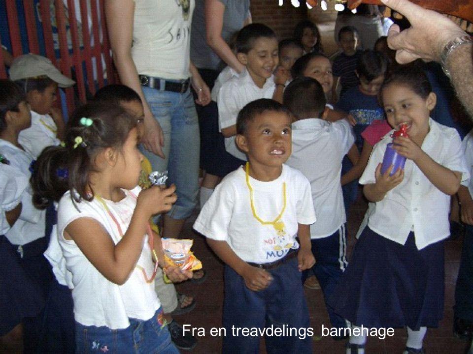 Fra en treavdelings barnehage