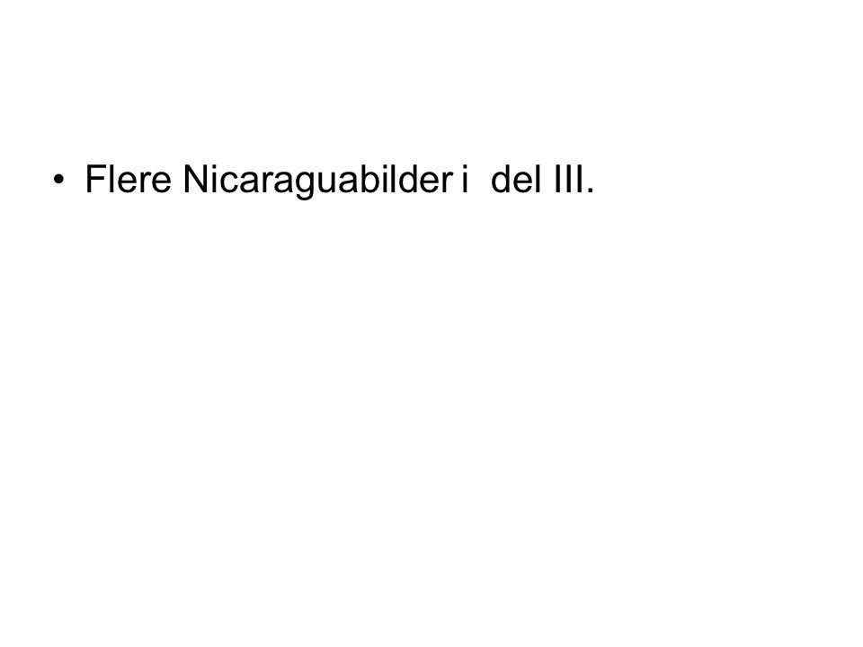 •Flere Nicaraguabilder i del III.