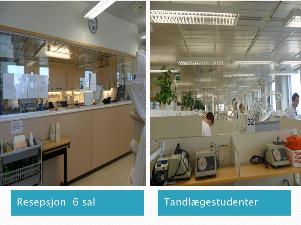TandlægestudenterResepsjon 6 sal