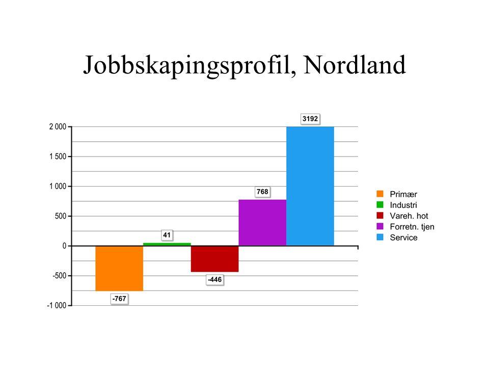 Jobbskapingsprofil, Nordland