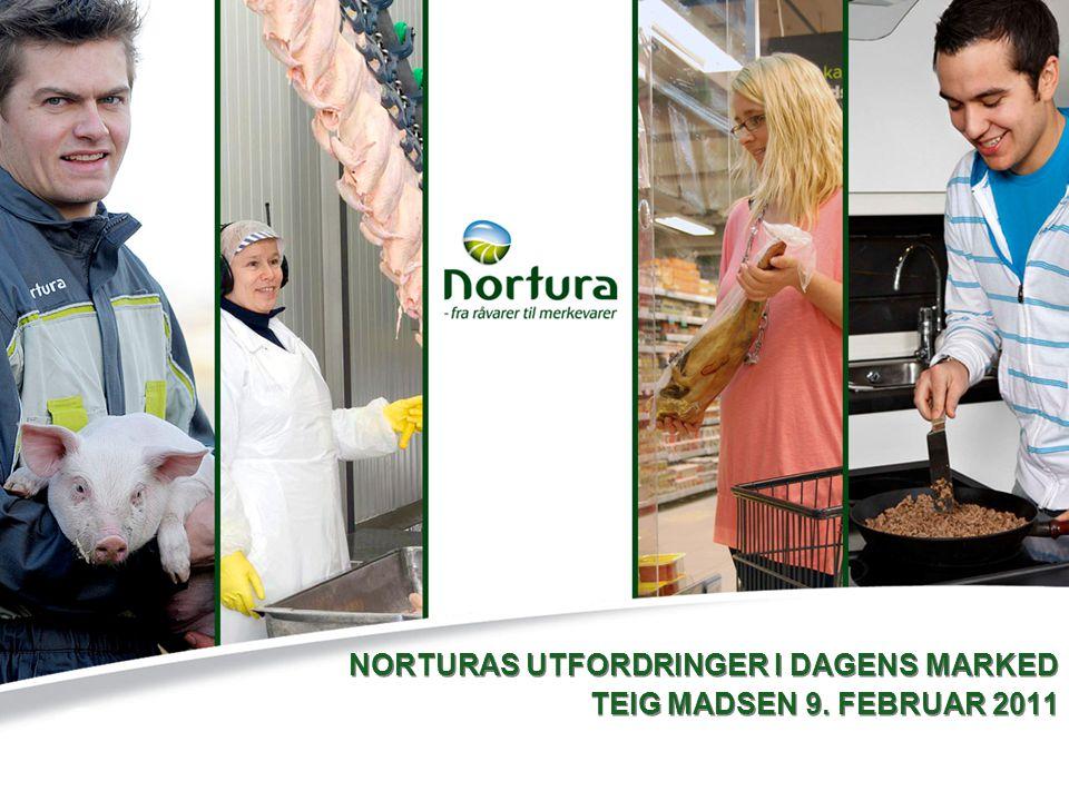NORTURAS UTFORDRINGER I DAGENS MARKED TEIG MADSEN 9. FEBRUAR 2011 NORTURAS UTFORDRINGER I DAGENS MARKED TEIG MADSEN 9. FEBRUAR 2011