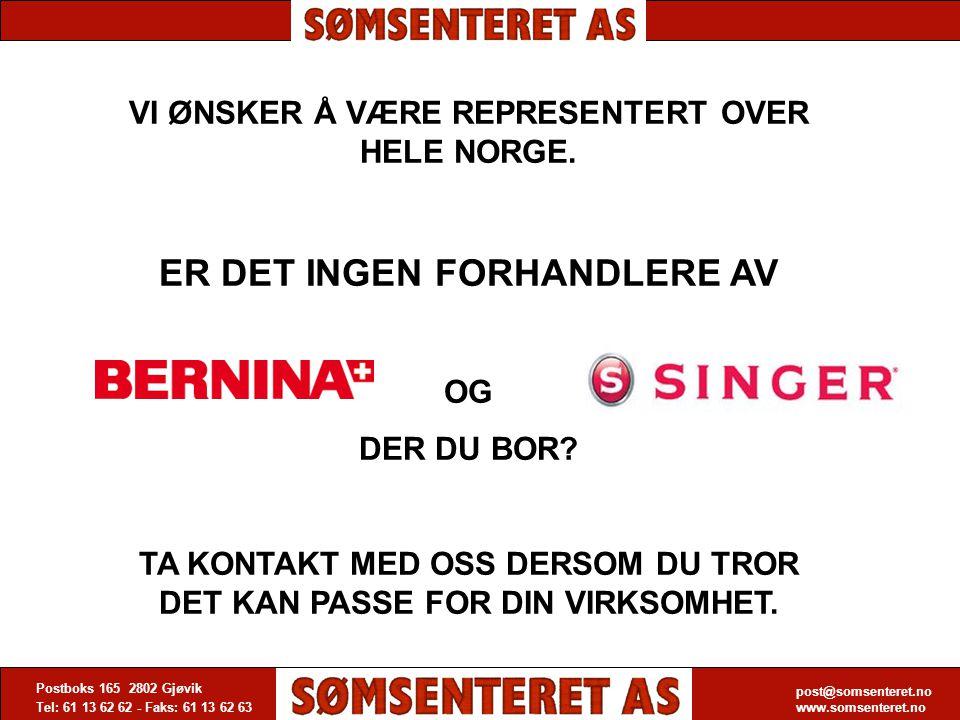 post@somsenteret.no www.somsenteret.no Postboks 165 2802 Gjøvik Tel: 61 13 62 62 - Faks: 61 13 62 63 post@somsenteret.no www.somsenteret.no VI ØNSKER