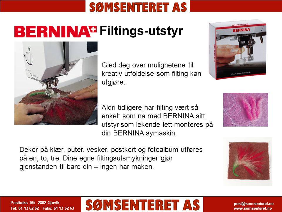 post@somsenteret.no www.somsenteret.no Postboks 165 2802 Gjøvik Tel: 61 13 62 62 - Faks: 61 13 62 63 post@somsenteret.no www.somsenteret.no Filtings-u