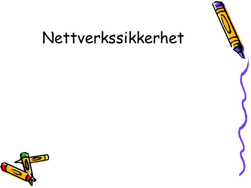 Nettverkssikkerhet