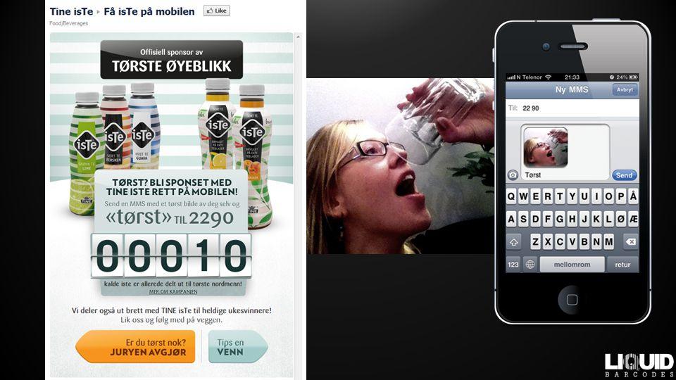 … enkelt … MARKED Kampanjer og rapporter ØKONOMI Avregning av kampanje DISTRIBUSJON SMS, app, annen POS Validering & sjekk av betingelser