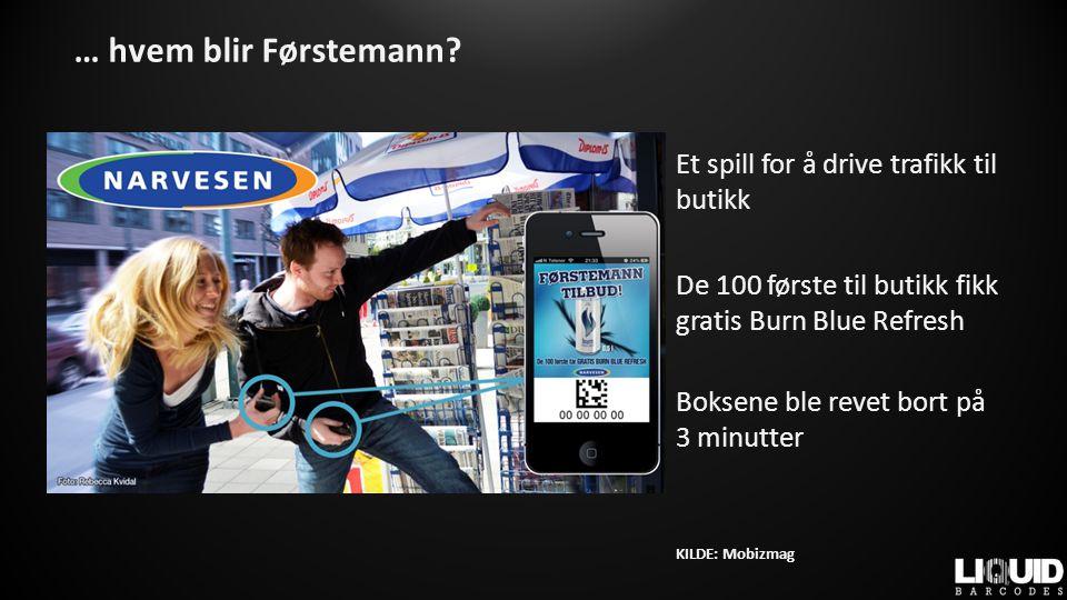 TAKK FOR MEG! Liquid Barcodes Per Kristian Tandberg Epost: pkt@barcodes.no Mobil: 930 21 999