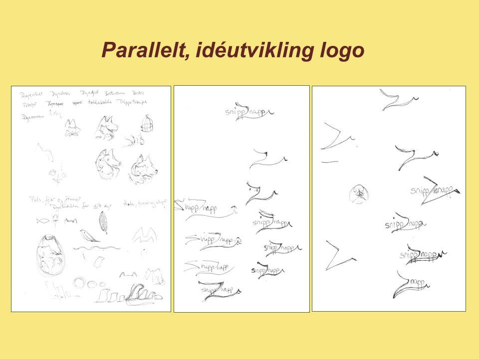Parallelt, idéutvikling logo