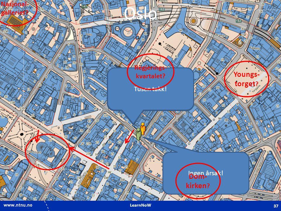 LearnNoW Oslo Unnskyld, jeg finner ikke Stortinget.