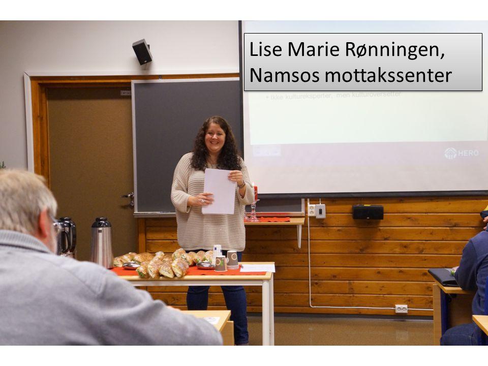 Terje Dyngen er leder ved Flyktningetjenesten i Namsos.