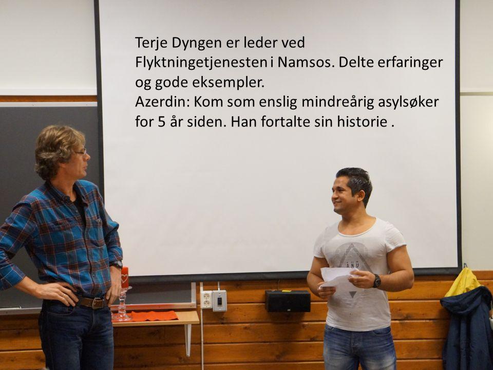 Tore Kongshaug jobber på NAV. Han sier: «Tett oppfølging og språk er viktig.»